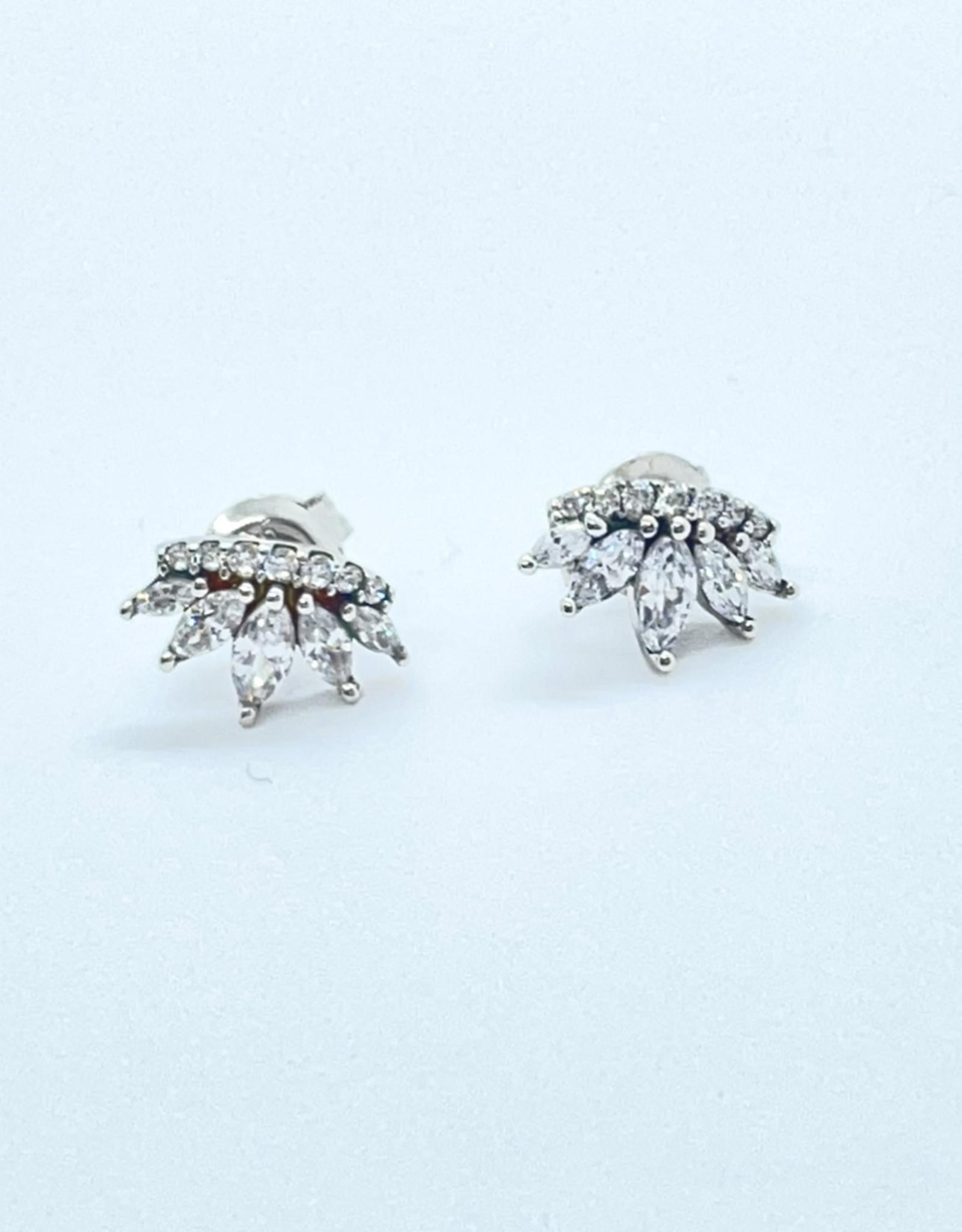 Sterling Silver Upside Crown