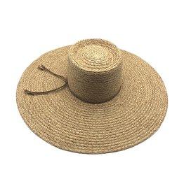 Gambler Crown Straw Hat