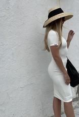 Pencil Dress - White Brazil Small