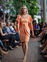 Sooley Designs MAIA Pencil Dress (Tangerine)
