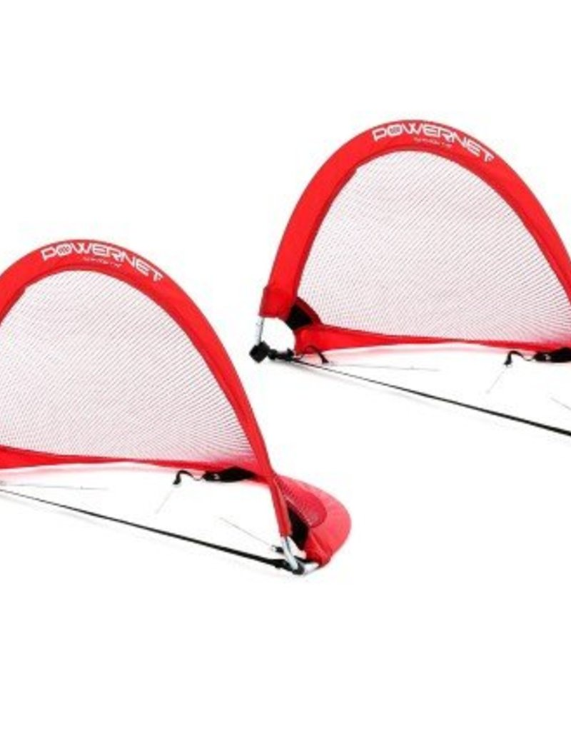 PowerNet Pop Up Soccer Goal (2 Goals + 1 Bag)