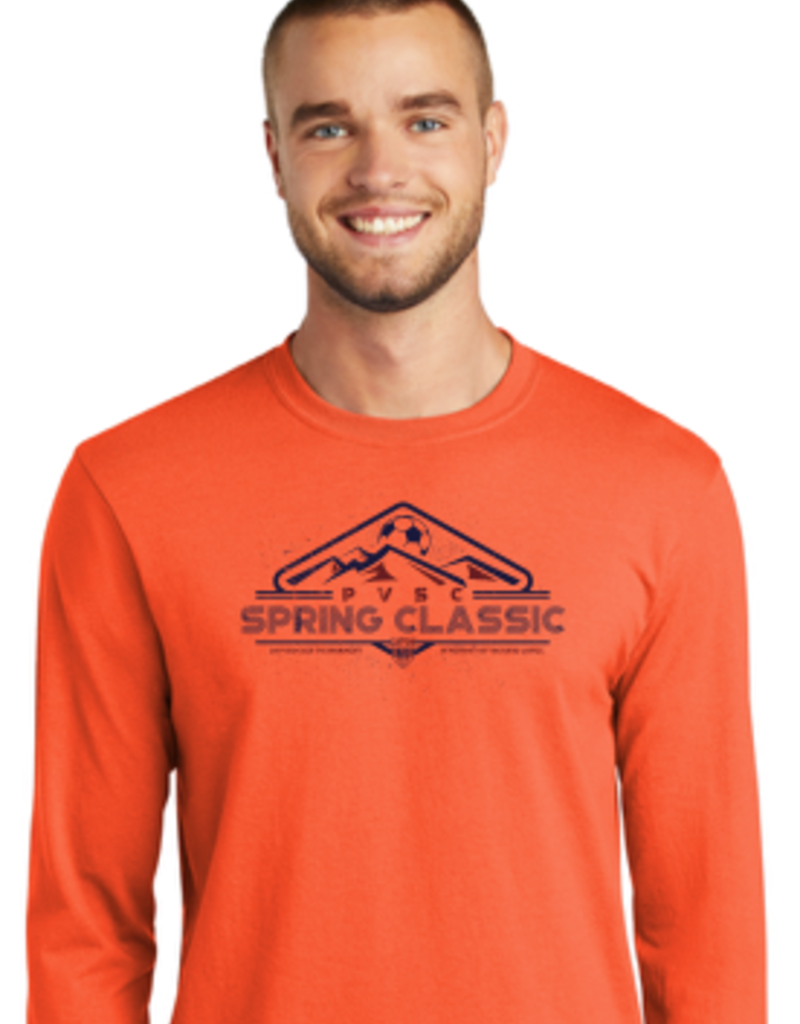 Port & Company Tournament Long Sleeve Core Blend Tee