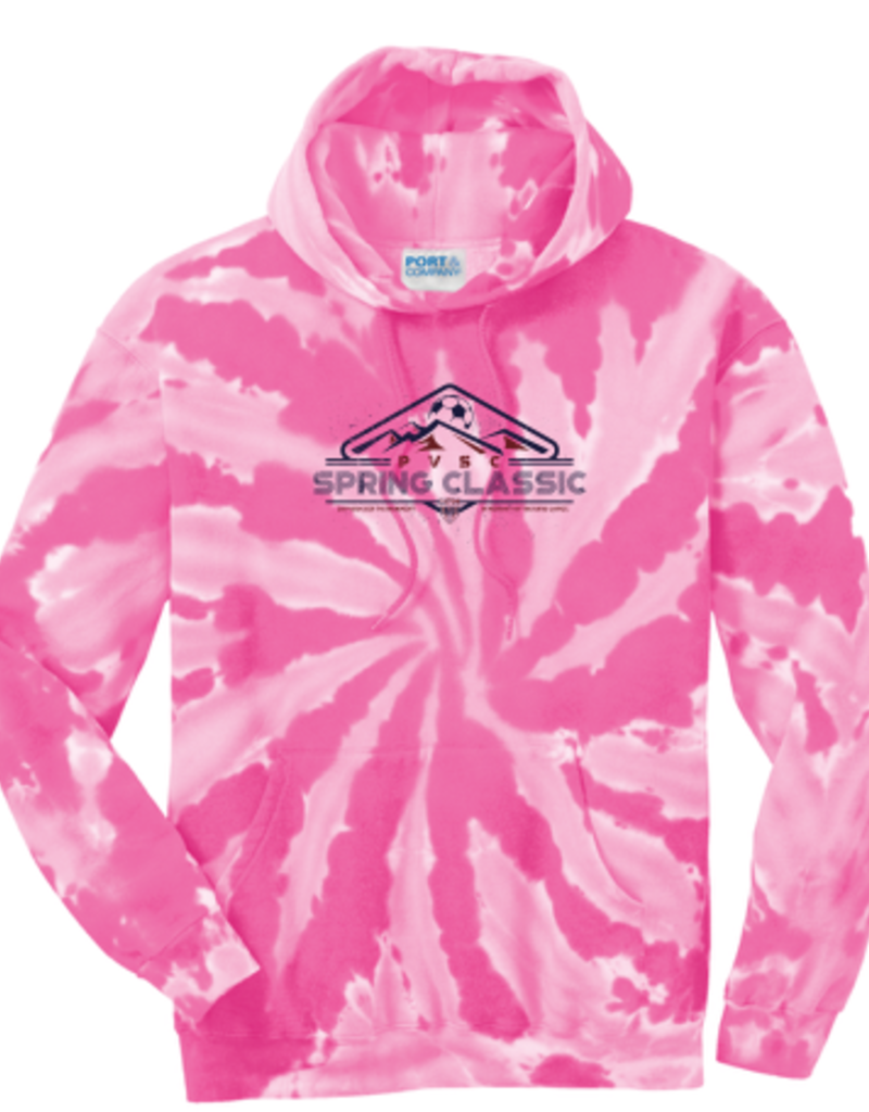 Port & Company Tournament Tie-Dye Pullover Hooded Sweatshirt