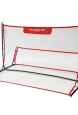 PowerNet Fast Pass Rebounder Soccer Trainer 6'x4'