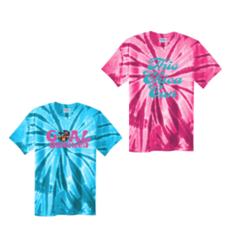 Port & Company Chicas Tie-Dye SS Tee