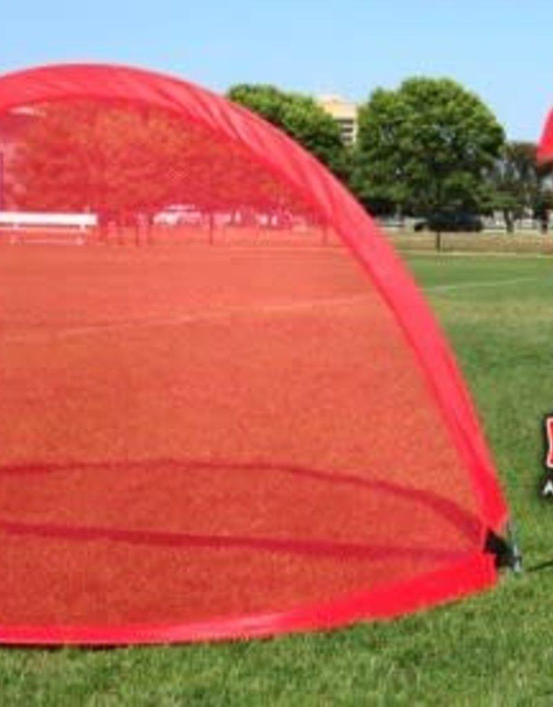 PowerNet PowerNet 4x3 ft Round Portable Pop Up Soccer Goal (2 Goals + 1 Bag)