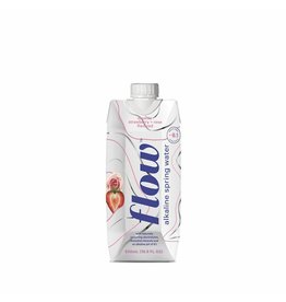 Flow Alkaline Spring Water - Strawberry + Rose - 500ml