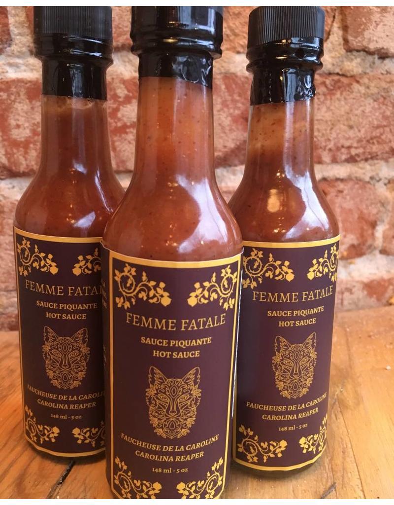 Joss'e Sauces by L'Epicerie Moderne Femme Fatale Sauce Piquante -  148 ml