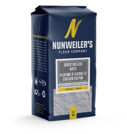 Numweillers Organic Quick Rolled Oats - 750g