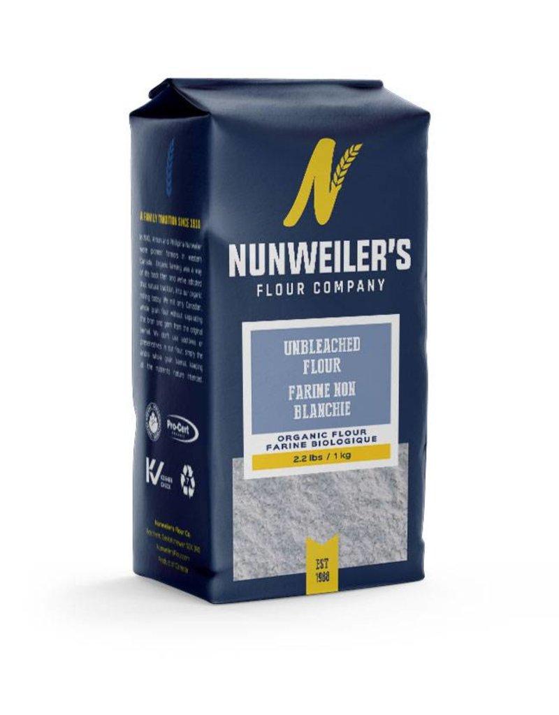 Numweillers Unbleached Organic White Flour - 1 Kg