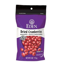 Eden Foods Dried Cranberries - 113g