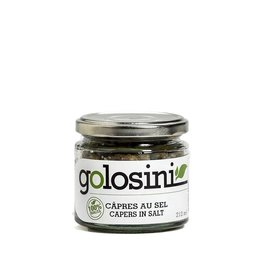 Golosini Capers in Salt - 212ml