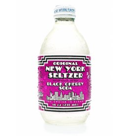 Original New York Seltzer Black Cherry Seltzer - 296ml