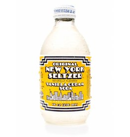 Original New York Seltzer Vanilla Cream Seltzer - 296ml