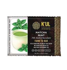 K'ul Chocolate Matcha Mint Bar - 35g