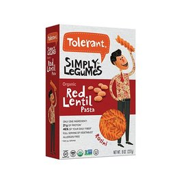 Tolerant Organic Red Lentil Rotini - 227g