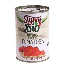 Signor Bio Organic Diced Tomatoes - 398ml