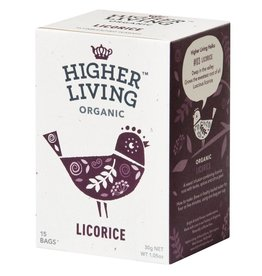 Higher Living Organic Teas Organic Licorice Tea - 15's
