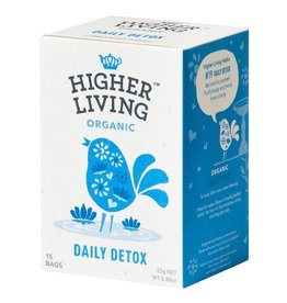 Higher Living Organic Teas Daily Detox Tea - 15's