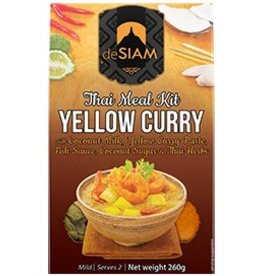 deSiam Yellow Curry Cooking Set - 260g