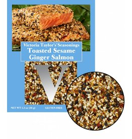 Victoria Gourmet Toasted Sesame Ginger Salmon - 36g
