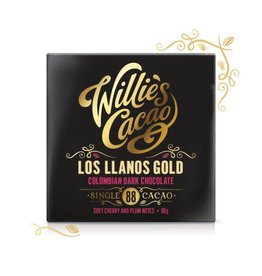 Willie's Cacao Colombian 88 Los Llanos Bar - 50g