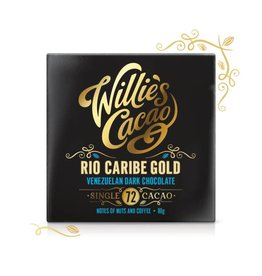 Willie's Cacao Venezuelan 72 Rio Caribe Bar - 50g