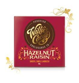 Willie's Cacao Hazelnut Raisin Bar - 50g