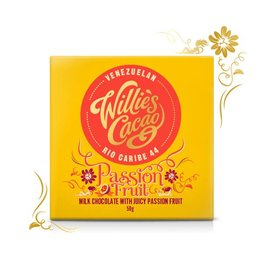 Willie's Cacao Passion Fruit Bar - 50g