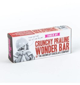 Grown Up Chocolate Company Crunchy Praline Wonder Bar -70g