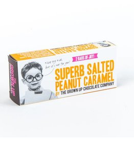 Grown Up Chocolate Company Superb Salted Peanut Caramel - 70g