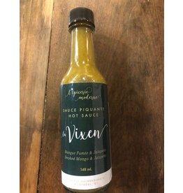 Joss'e Sauces by L'Epicerie Moderne Le Vixen Sauce Piquante Mangue Fumée & Jalapeño - 148ml