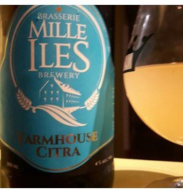 Brasserie Mille Iles Farmhouse Citra - 500ml