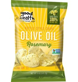 Good Health Snacks Olive Oil Rosemary Chips - 142g