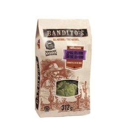 Bandito's TORTILLA CHIPS - CORN, KALE, CHIA & QUINOA - 312G