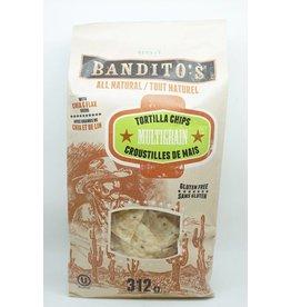 Bandito's TORTILLA CHIPS - MULTIGRAIN - 312G