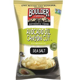 Boulder Canyon Canyon Cut Kettle Cooked Chips – Avocado Oil -128g