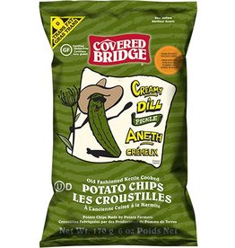 Coverrd Bridge Creamy Dill Pickel Potato Chips - 170g
