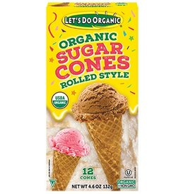 Let's do Organic Organic Sugar Cones - 144g