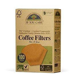 If You Care NO. 4 Coffee Filters - 100 CT