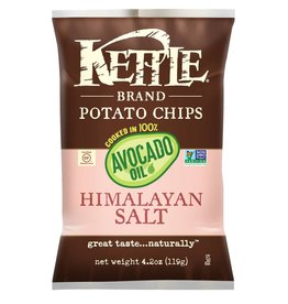 Kettle Foods Himalayan Salt Avocado Oil Potato Chips - 170g