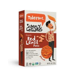 Tolerant Organic Red Lentil Penne- 227g