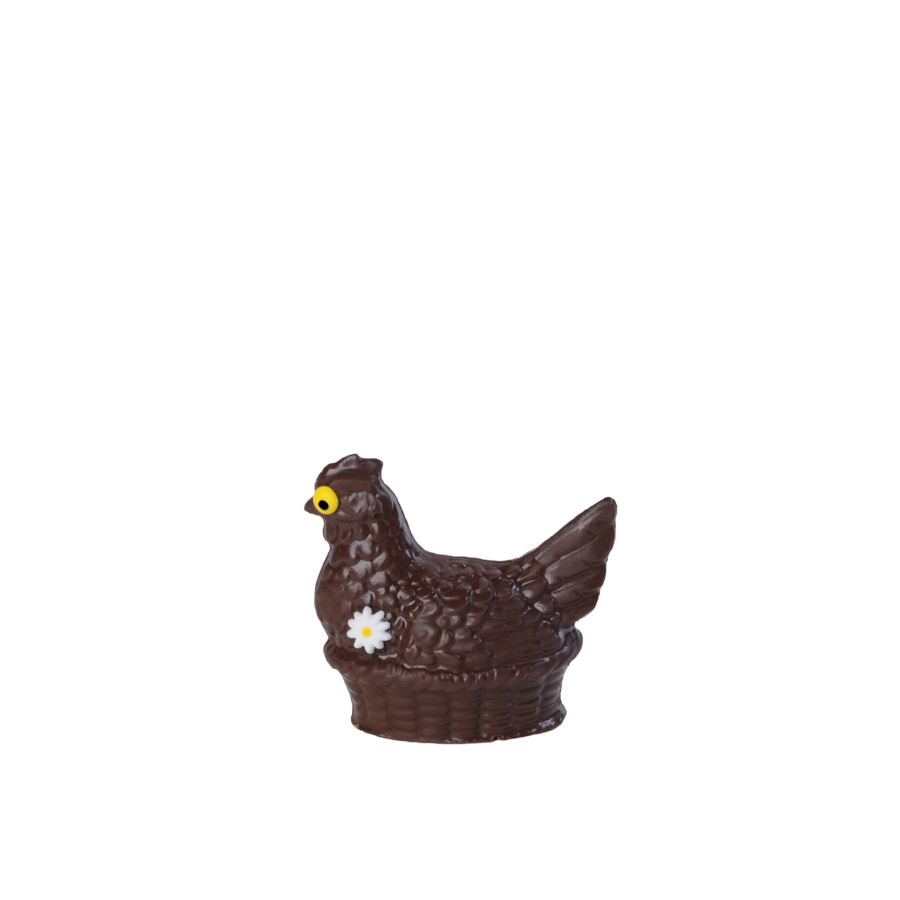 Milk chocolate hen Lulu 100g