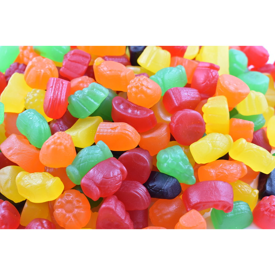 Jujubes assorties