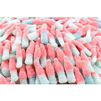 Sour Bubble Gum Bottles