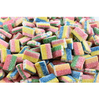 Sour Rainbow Bricks