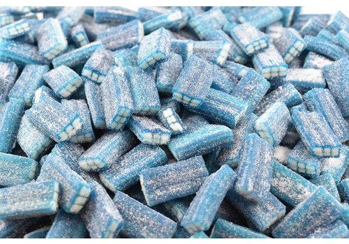 Brique framboise bleue sur