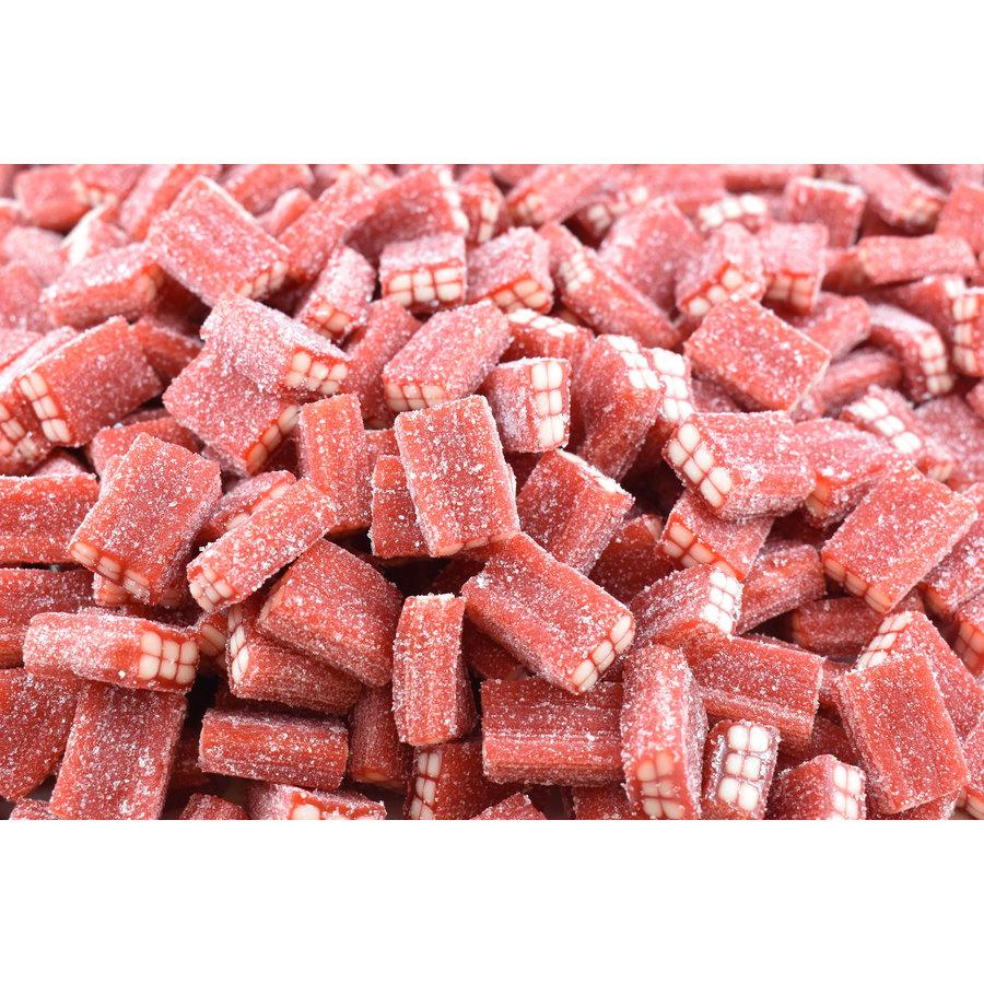 Brique rouge à la fraise