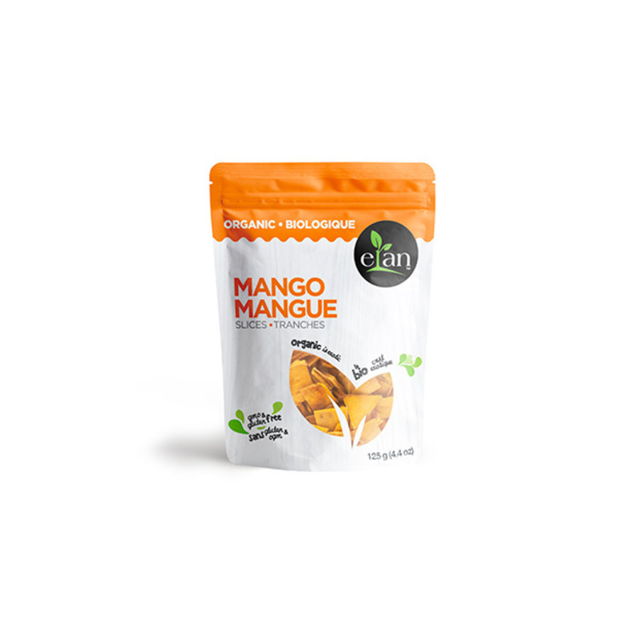Elan Mangue en tranches Bio 125g