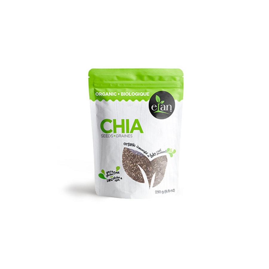 Elan Organic Chia Seeds 250g